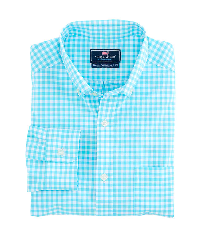 Seamont Gingham Performance Classic Murray Shirt