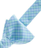 Valley Check Woven Bow Tie