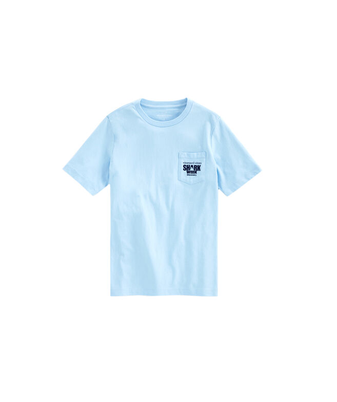 Boys Cage Diver Pocket T-Shirt