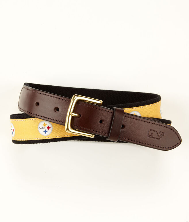 Pittsburgh Steelers Canvas Club Belt