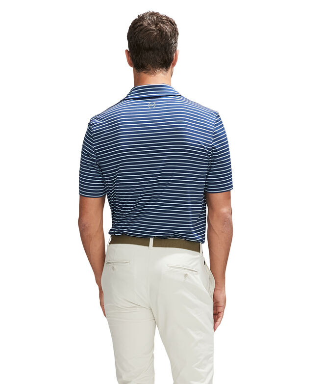 Range Stripe Sankaty Performance Polo