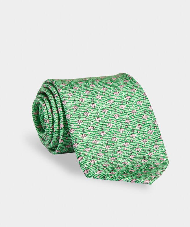 Sea Turtles Printed Tie