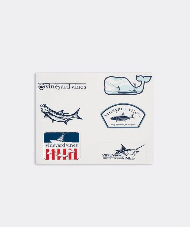 Fishing Pack Sticker Sheet