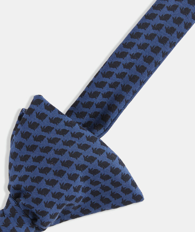 Tonal Easter Bunny Printed Bow Tie
