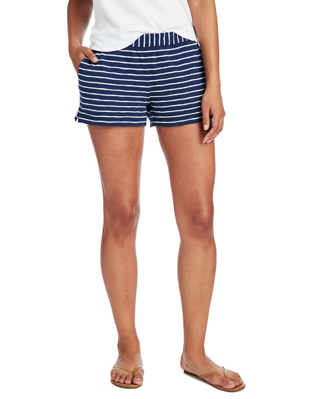 Stripe Knit Shorts