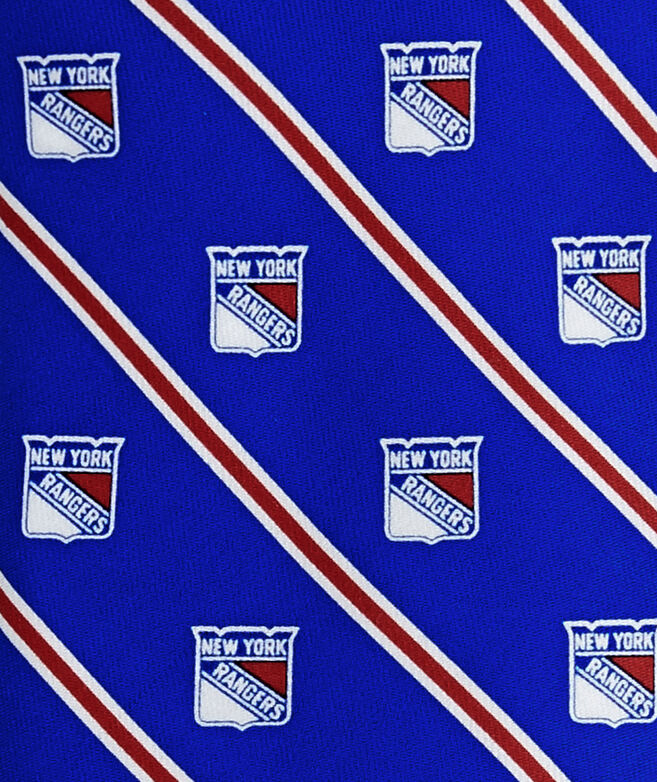 New York Rangers Rep Stripe Tie