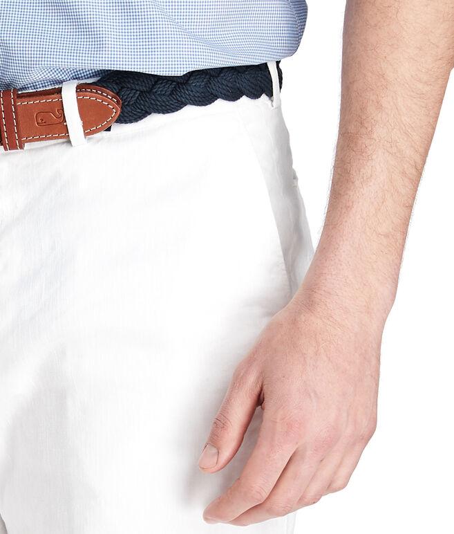 9 Inch Cotton Linen Greenwich Shorts
