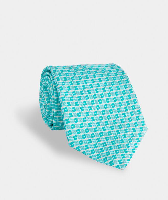 Sandbar Geo Printed Tie