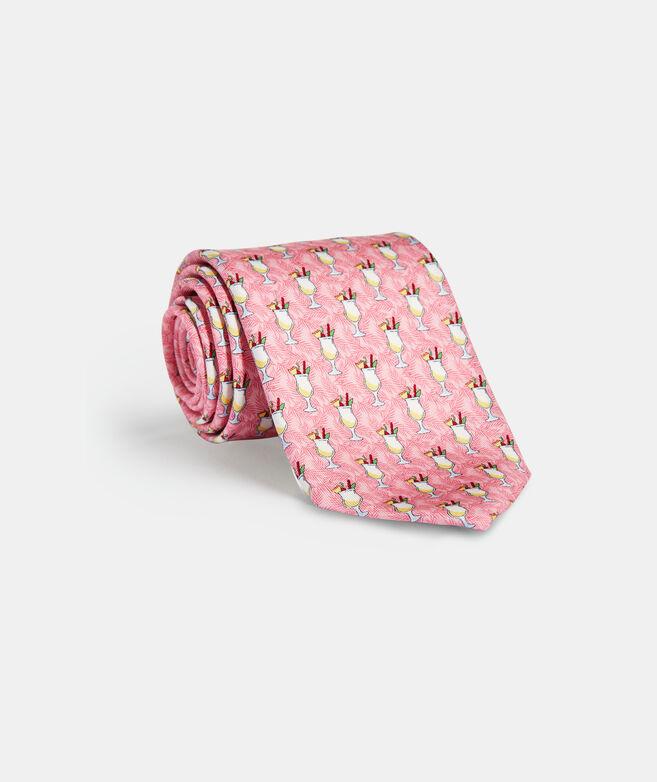 Pina Colada Printed Tie