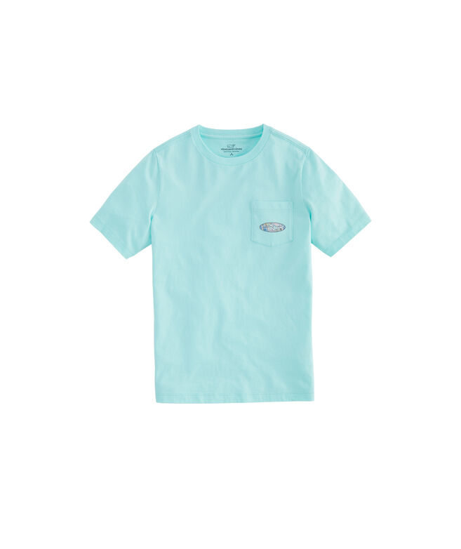 Boys Surfs Up Surf Fill Short-Sleeve Pocket Tee
