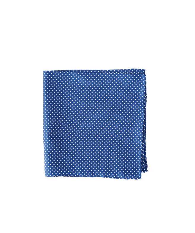 Polka Dot Print Pocket Square