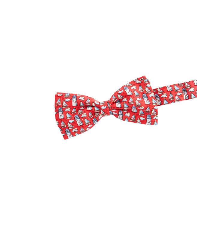 Boys Nantucket Lighthouse Bow Tie