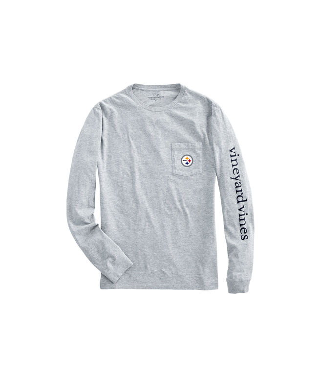 Pittsburgh Steelers Long-Sleeve EDSFTG T-Shirt