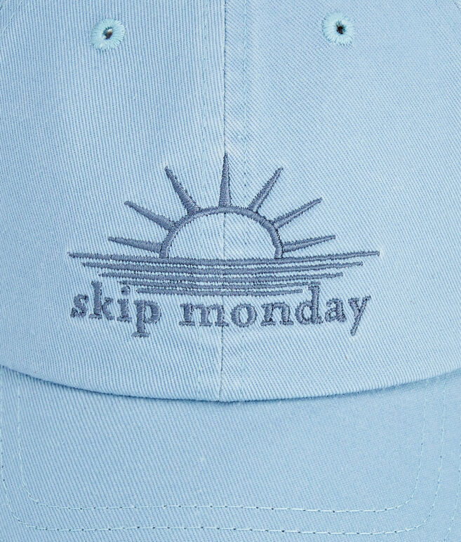 Skip Monday Twill Baseball Hat