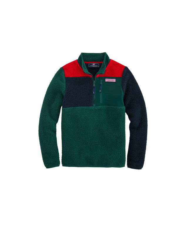 Boys Party Sherpa Pullover