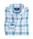 Picket Plaid Slim Tucker Shirt