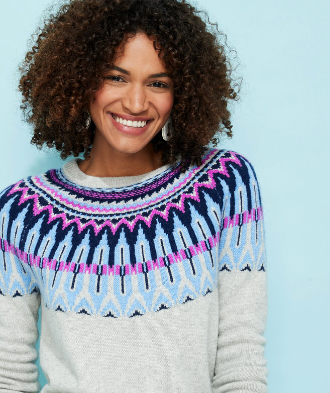 Pop Fair Isle Sweater