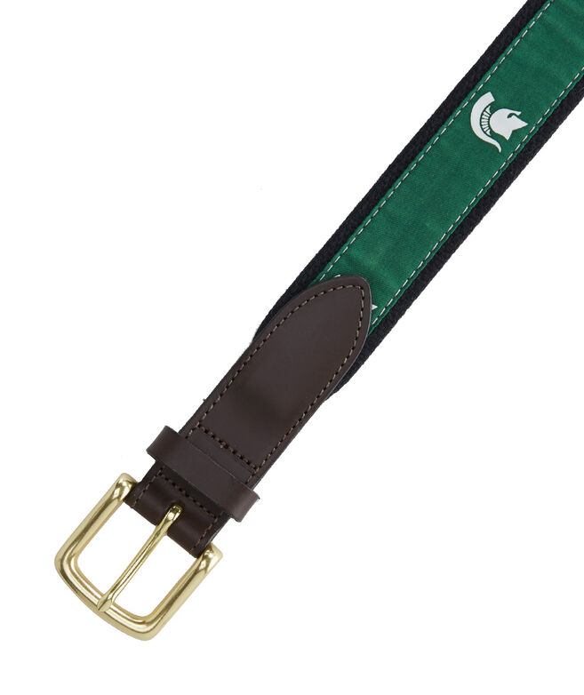 Michigan State University Canvas Club Belt