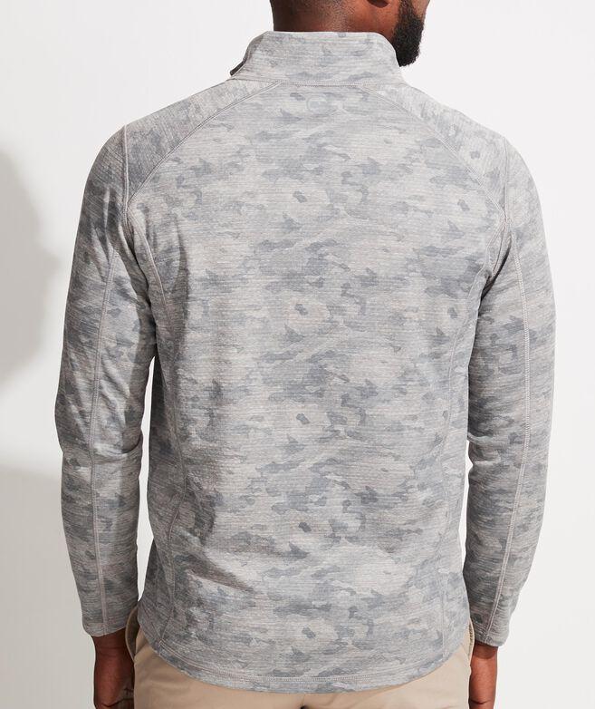 Printed Camo Sankaty 1/2-Zip Pullover