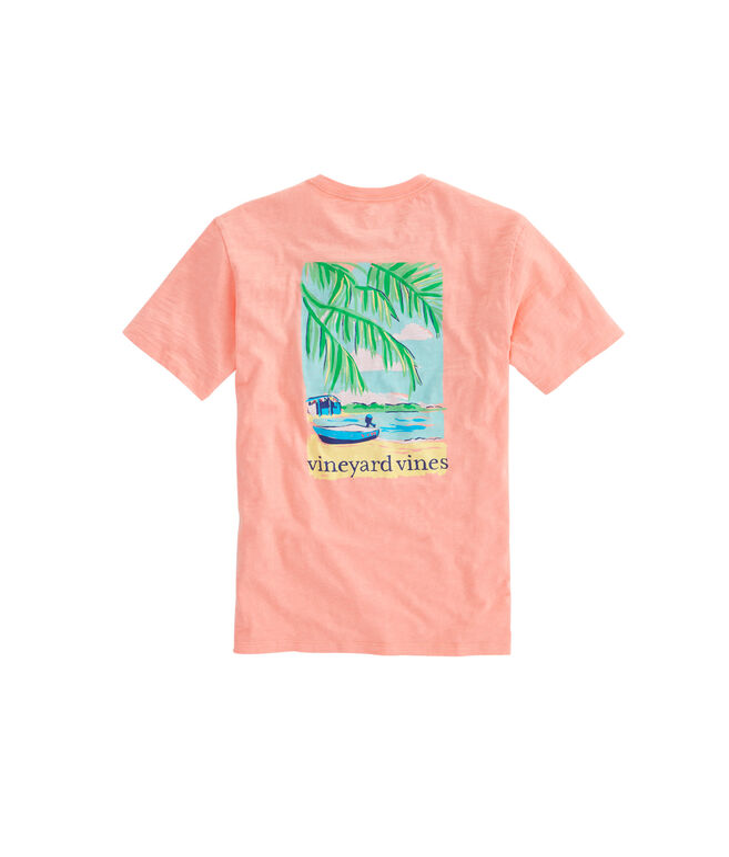 Beach Time Slub T-Shirt
