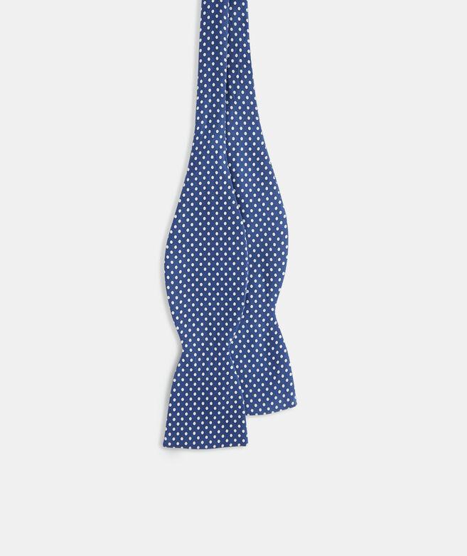 Polka Dot Printed Bow Tie