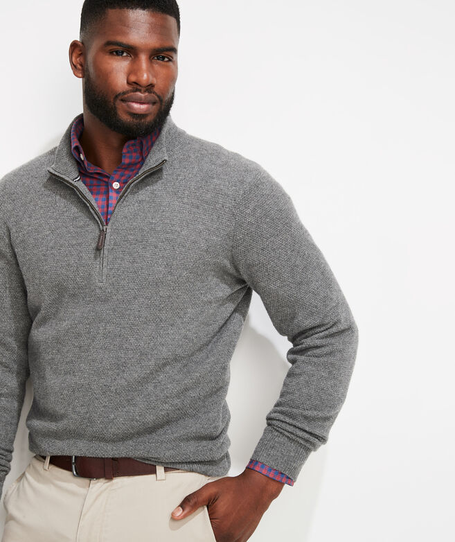 Yachtsman's 1/4-Zip Sweater