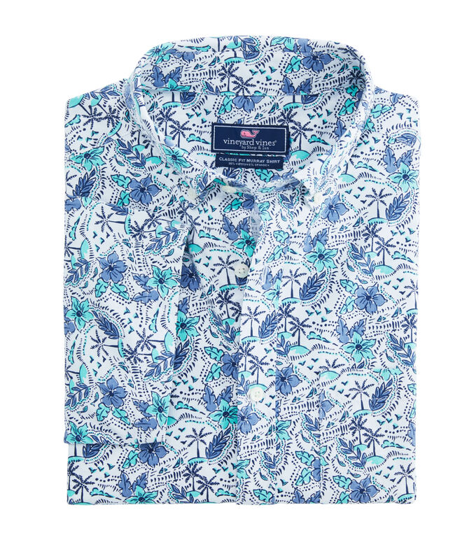 Short-Sleeve Island Time Classic Murray Shirt