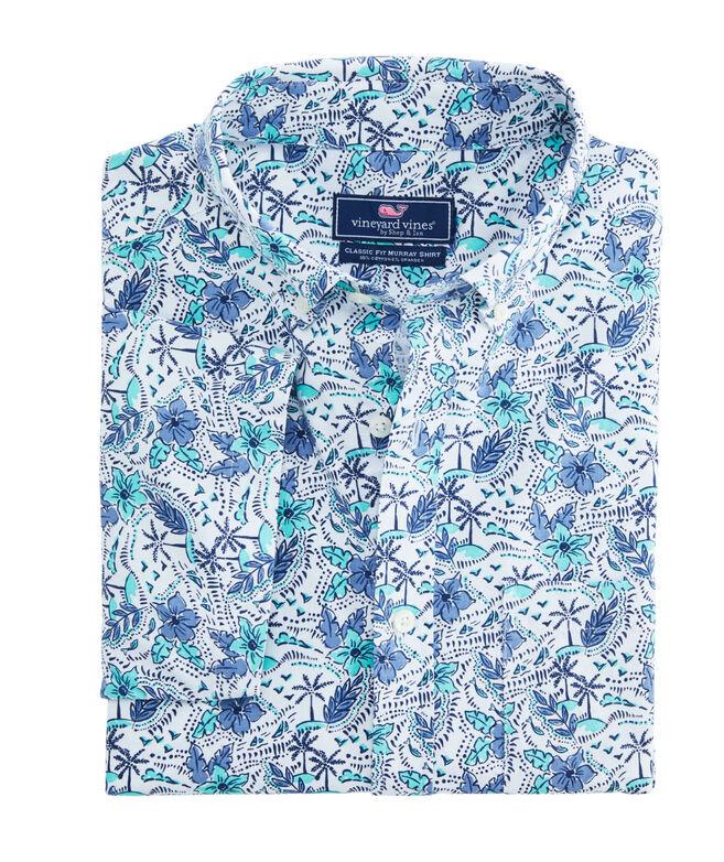 Classic Short-Sleeve Island Time Murray Shirt