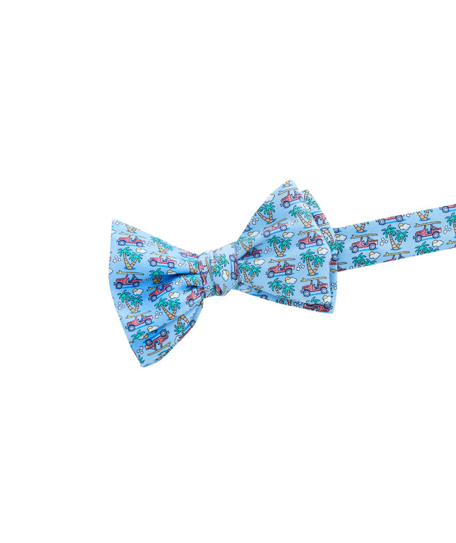 Truck & Palm Bow Tie