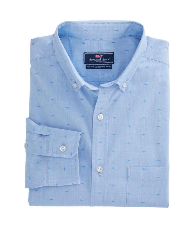 Fish Jacquard Classic Murray Shirt