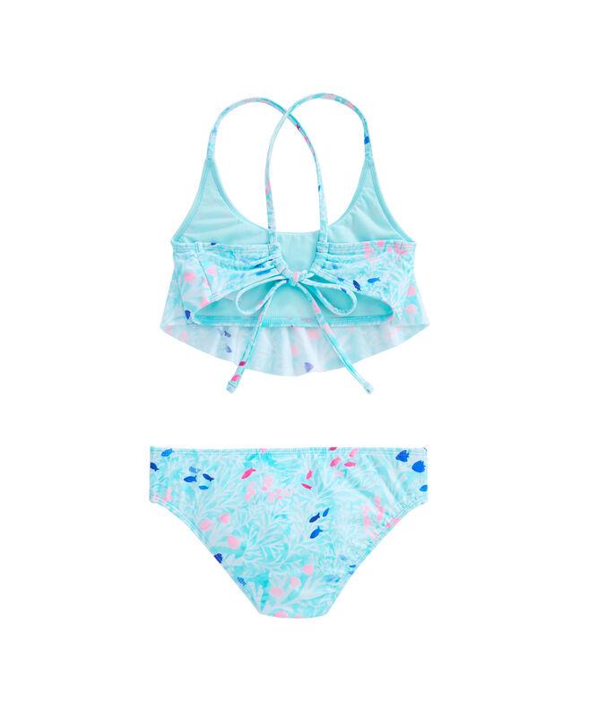 Girls Sea Garden Flounce Bikini