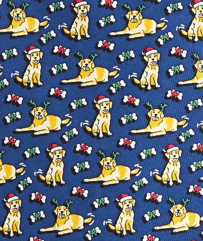 Santa Paws Printed Tie
