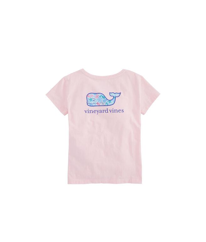 Girls Cookie Whale Pocket Tee