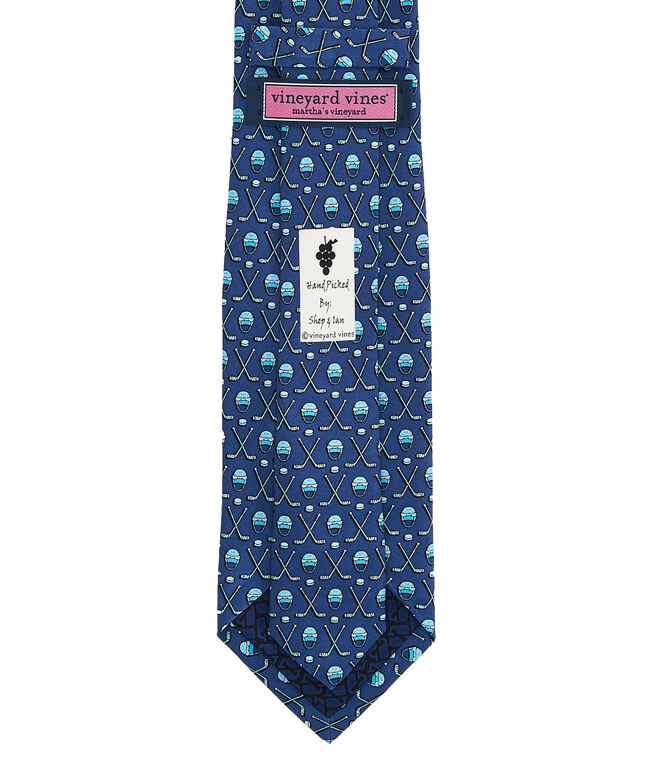 Hockey Gear XL Printed Tie