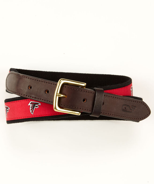 Atlanta Falcons Canvas Club Belt