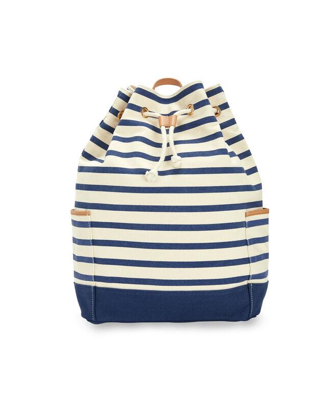 Seaside Stripe Daypack Bag