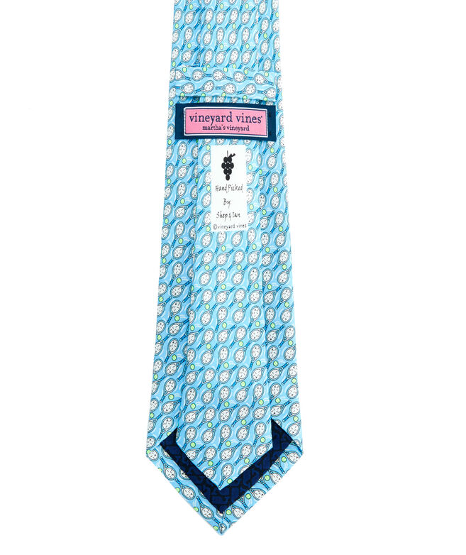 Boys New Tennis Racquets Printed Tie