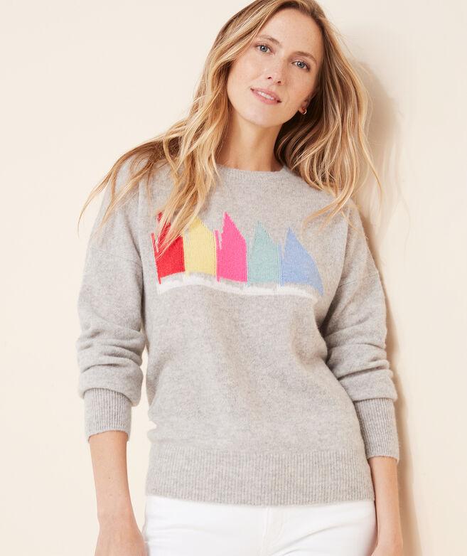 Rainbow Fleet Lofty Cashmere Crewneck Sweater