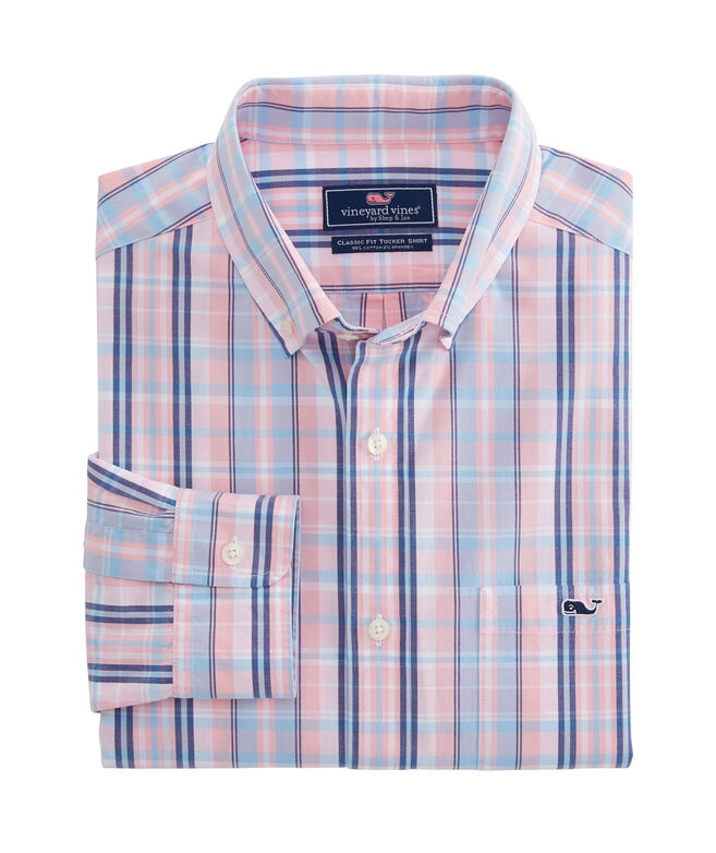 Gibbs Hill Plaid Classic Tucker Shirt