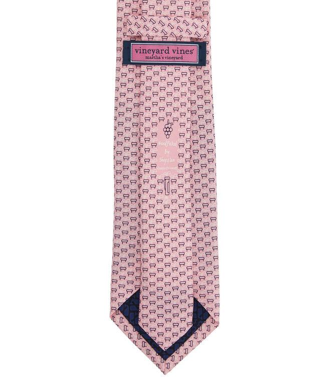 Chip In Geo Printed Tie