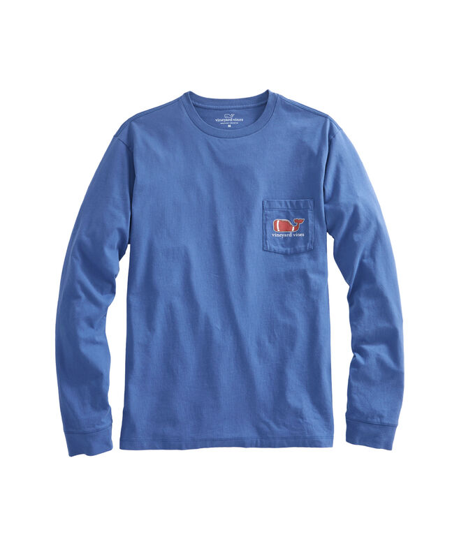 Long-Sleeve Touchdown Pocket T-Shirt