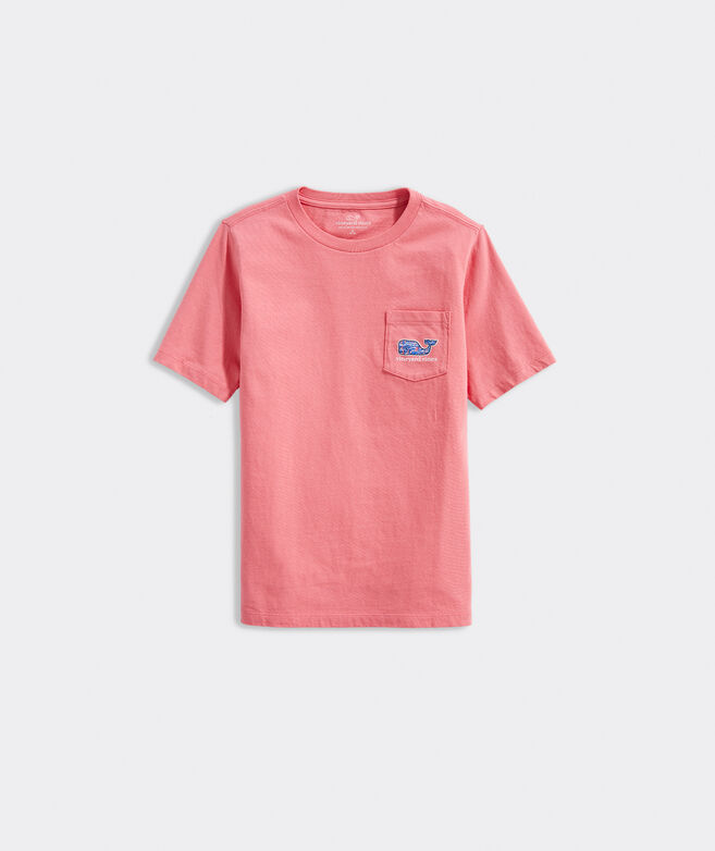 Boys' Sailing In St. Barths Short-Sleeve Pocket Tee