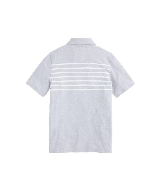 Boys Edgartown Placed Stripe Polo