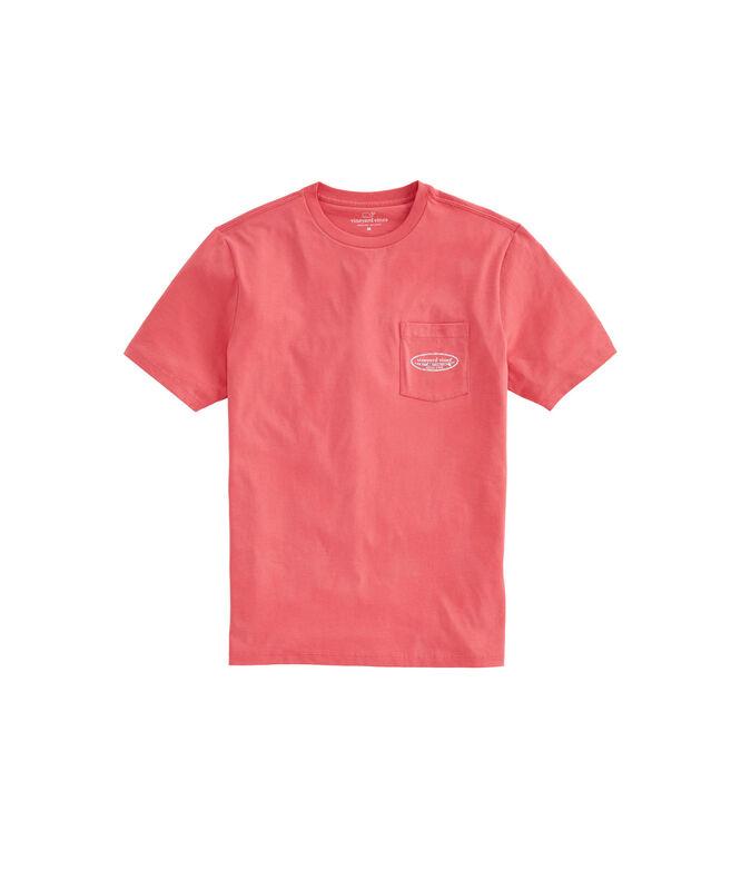 Vineyard Camo Surf Logo Pocket T-Shirt