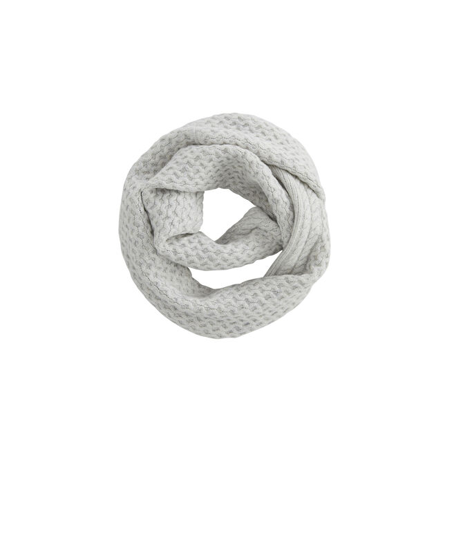 Aran Cable Infinity Scarf