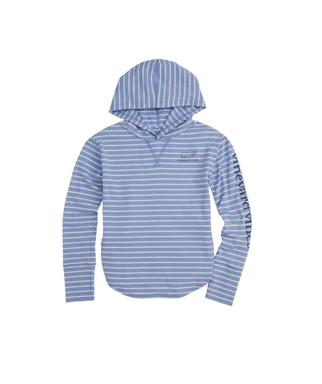 Girls Edgartown Long Sleeve Hoodie Tee