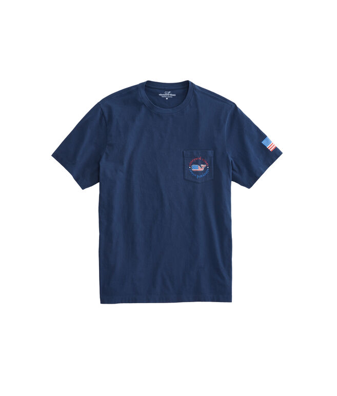 USA All Day Pocket T-Shirt