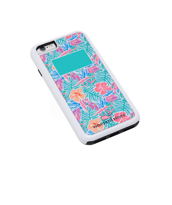 best sneakers dbd31 cbfc2 Monogrammed Gulf Tropical Chappy iPhone 7 / 8 Plus Case