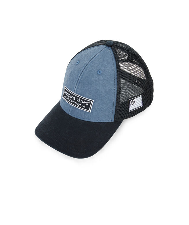 d2167691 Shop Low Profile Tonal Classic Logo Trucker Hat at vineyard vines
