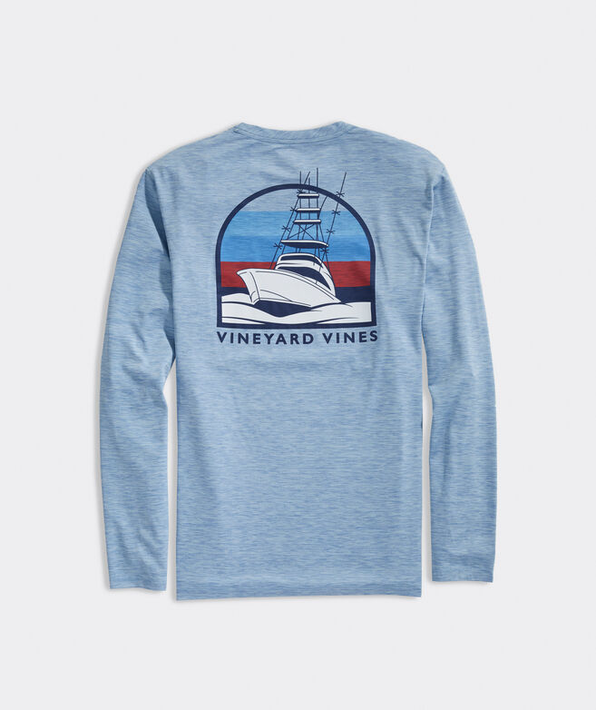 Sportfisher Long-Sleeve Harbor Performance Tee